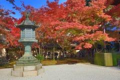 Autumn Colors i den Eikando templet, Kyoto, Kansai, Japan Fotografering för Bildbyråer