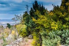 Autumn colors of Krizevac Mount Stock Images