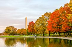 Fall on the Capitol Mall royalty free stock images