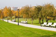 Autumn colors in the park Royalty Free Stock Images