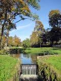 Autumn colors in park Stock Photo