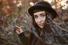 Autumn colors portrait Royalty Free Stock Images