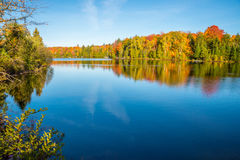 Autumn colors in Quebec, Canada Royalty Free Stock Photography
