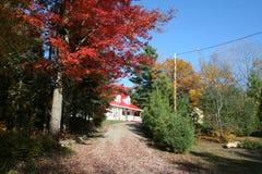 Autumn colors in Quebec, North America. Autumn colors in Quebec, Canada, North America stock photography