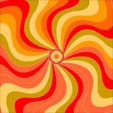 Autumn Colors Swirls Stock Photo