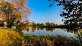 View of the Vistula River Stock Photos