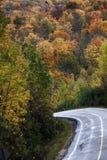 Autumn Colors y camino Imagenes de archivo