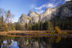 Autumn colors in Yosemite Royalty Free Stock Photo