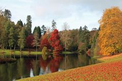 Free Autumn Colours At Stourhead Royalty Free Stock Image - 129811086