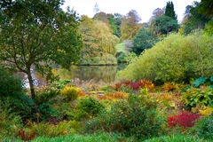 Autumn colours at Forde Abbey Dorset England Stock Photos