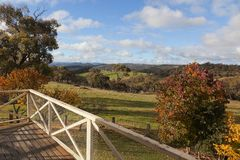 Autumn colours near Oberon. NSW. Australia. Stock Photo