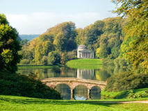 Autumn Colours At Stourhead Stock Photo