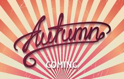 Autumn is coming Royalty Free Stock Photos