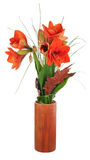 Autumn composition from amaryllis flowers. Stock Photography
