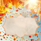 Autumn Concept Background. EPS 10 Stock Photo