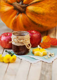 Autumn concept of food Halloween Royalty Free Stock Image