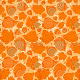 Autumn concept seamless pattern. Stock Images