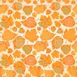 Autumn concept seamless pattern. Stock Photography