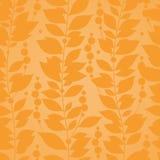 Autumn concept seamless pattern. Stock Photo