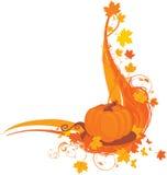 Autumn corner frame Royalty Free Stock Images