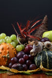 Autumn cornucopia Stock Image