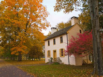 Autumn Cottage Stock Image
