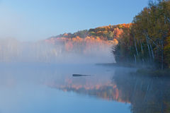 Autumn Council Lake Royalty Free Stock Photography