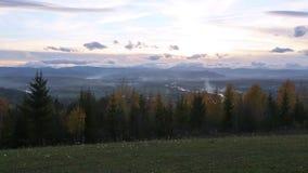 Autumn Country landskap stock video