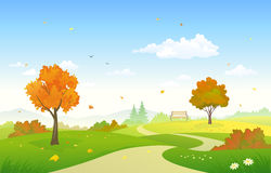 Free Autumn Country Park Stock Photography - 75652532