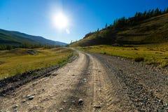 autumn country road стоковое изображение