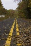 Autumn Country Road Image libre de droits