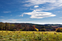 Autumn countryside Royalty Free Stock Image