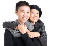 Autumn couple Royalty Free Stock Image