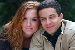 Autumn Couples royalty free stock image