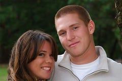 Autumn Couples Stock Image