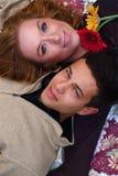 Autumn Couples Stock Photography