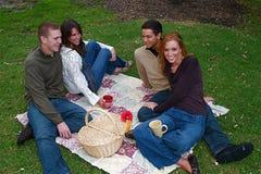 Autumn Couples Stock Photo