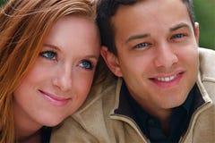 Autumn Couples Stock Photos