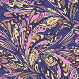 Autumn Creative Abstract Pattern stock de ilustración