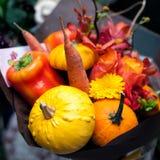 Autumn creative bouquet Stock Photo