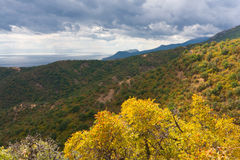 Autumn in crimea Stock Images