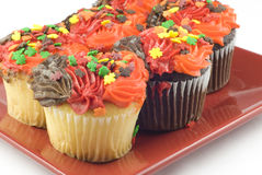 Autumn Cupcakes Stock Photography