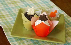 Autumn cupcakes Royalty Free Stock Photo