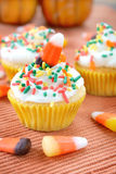 Autumn Cupcakes Stock Image