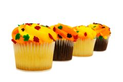 Autumn cupcakes Royalty Free Stock Image
