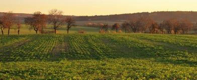 Autumn Czech landsape Arkivbilder