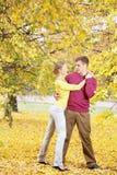 Autumn dance Stock Photo
