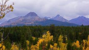 Autumn at Dancing Woman Mountain Stock Image