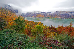 Autumn at the Danube Gorges Royalty Free Stock Photography