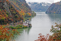 Autumn at the Danube Gorges Stock Photography